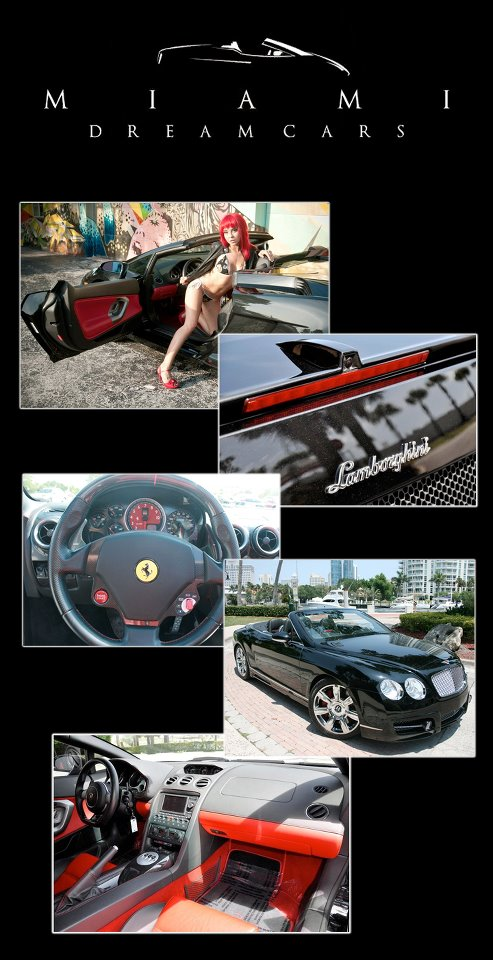 Miami Dream Cars - Miami Ferarri Rental